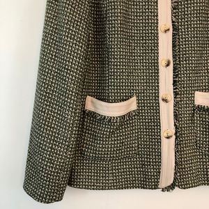 Sundance Jackets & Coats - Sundance Green Tweed Blazer Jacket